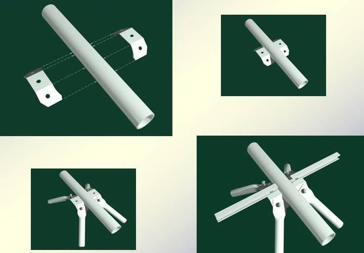 Hình ảnh cấu tạo nút giàn công nghiệp